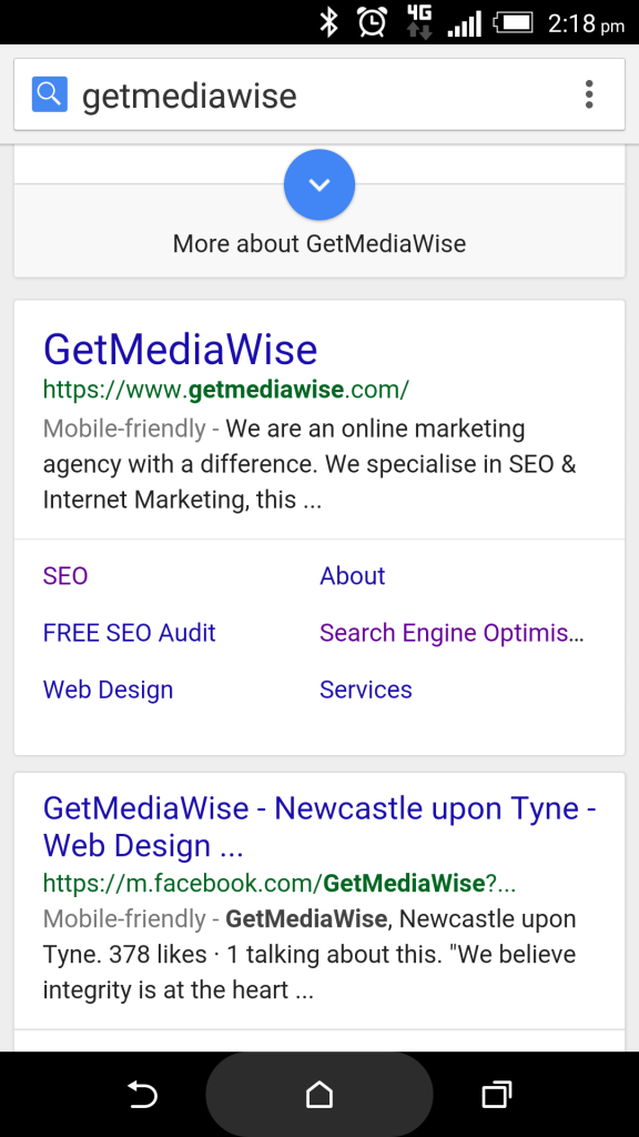 Mobile Search Update