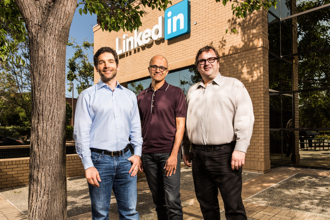 LinkedIn has been acquired by Microsoft